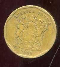 AFRIQUE DU SUD  20 cents  2000