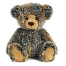16 in Brindle Teddy Bear Large Plush Stuffed Toy Mottled Brown Tan Gray AU01728