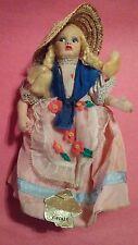 "Vintage MAGIS ROMA FIRENZE Doll Paper Mache Face 6-1/2"""