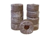 50mm Jiffy Peat Pellets, 25, 50, 75, 100, Growing Supplies, Seed Starting Pellet