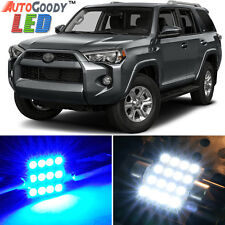 14 x Premium Blue LED Lights Interior Package Kit for Toyota 4Runner 03-17 +Tool