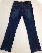 Harley Davidson Jeans Womens Size 4 Regular Blue Denim Classic Motorcycle Cotton