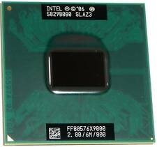Intel Core 2 Extreme Processor X9000 6MB Cache 2.80GHz 800 MHz FSB CPU laptop