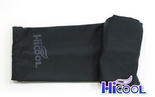 New High Cool 1Pair Arm Sleeves Cooling UV Sun Protect Golf Cycling Toshi Black