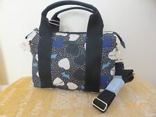RADLEY HEARTS DARK BLUE OILSKIN MEDIUM MULTI WAY BAG NEW WITH TAGS - RRP £105