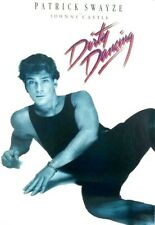 RARE Dirty Dancing 1987 Patrick Swayze Johnny Castle Poster Never Opened