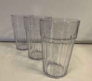 12/24/48 Brand New 0.285L Plastic Fluted Tumbler Party Tableware BBQ