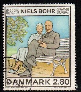 Denmark #Mi848 Used CV€1.00 1985 Niels Bohr Nobel Physicist [785]