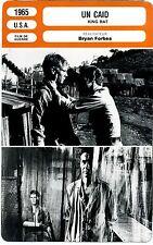 Fiche Cinéma. Movie Card. Un caid / King rat (USA) Bryan Forbes 1965