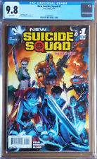 NEW SUICIDE SQUAD #1 Cover A (2014 series) - Roberts Cover - CGC 9.8