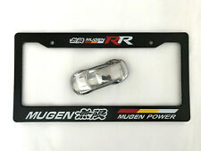 Mugen 无限 Power Tuning RR Racing Canada & USA License Plate Frame Fits Honda JDM
