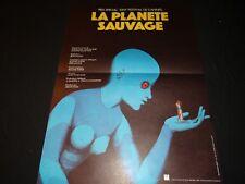 LA PLANETE SAUVAGE rene laloux affiche cinema 1973 topor