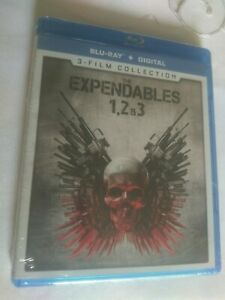 The Expendables: 1 2 3 Collection (Blu-ray Disc, 3-Disc Set) SEALED  NEW