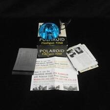 Polaroid Flashgun 268 with Cold Clip and Instructions Original Box
