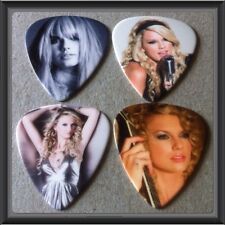 ���� Lot Of 4 Taylor Swift Guitar Picks Brand New #5 ����