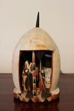 RWANDA old african toy hut TUTSI ancien cabana jouet d'afrique afrika africa