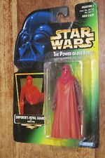 STAR WARS - THE POWER OF THE FORCE  -- EMPEROR'S ROYAL GUARD  - KENNER / 1997