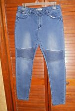 Rue 21 Junior Womens Jeans Twentyone Black Low Rise Flex Stretch Denim Size 9/10