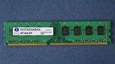 Integral IN3T4GNABKX 4GB 1600MHz 2Rx8 PC3-12800U DDR3 RAM Memory, 240-Pin DIMM