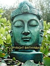 NEW RUBBER LATEX CONCRETE MOULD MOLD BUDDHA HEAD TO MAKE LARGE GARDEN STATUE