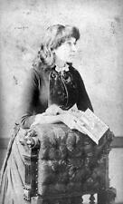 Photo. ca 1875. Women's Suffrage.  Emmeline Pankhurst