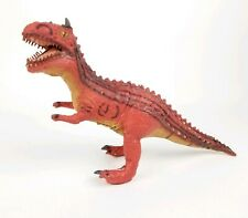 12 inch Disney's Animal Kingdom Carnotaurus Dinosaur Dinoland Rubber Toy