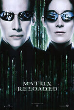 "THE MATRIX RELOADED Movie Poster [Licensed-NEW-USA] 27x40"" Theater Size Reeves"