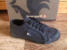 Le Coq Sportif Deauville Jr Noir Taille 31 Chaussures Jeunes Neuf