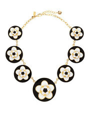 Kate Spade Mod Floral Necklace NWT Bold 60s Pop Art  Urban Hip