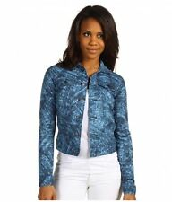 Calvin Klein Denim Eclipse Combo Print Jacket NWT Size Small MSRP: $89.50