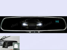 Auto dimming rearview mirror+compass+temperature,fit Toyota,Ford,Nissan,Chevy,UK