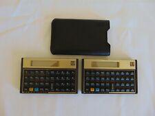 2 Hp 12C Financial Calculators