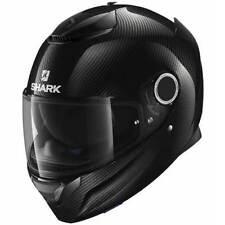 Cascos de motocicleta para conductores, fibra de carbono talla XS