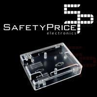 Carcasa Arduino Uno R3 protection acrílica transparente moldeado por inyeccion