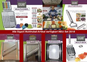 Gigant Multihobel / NEUE Einsätze und Set-Varianten!