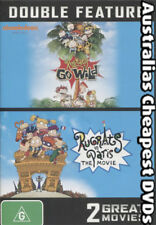 Rugrats Go Wild & The Movie in Paris - 2 Great Movies Double Feature DVD