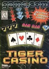 Tiger Casino (Game.Com, 1997) Sealed Free Mailing
