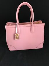 Authentic Ralph Lauren Fairfield City Tote 100 Leather Tags & Dustbag