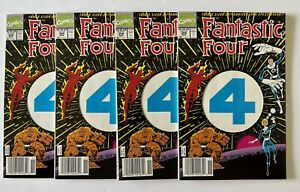 Fantastic Four #358 … newstand copies 4 copies total!