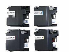 4x Druckerpatronen für Brother LC225XL LC227XL MFC-J4620DW J5625DW wiederbefüllt