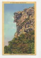 The Old Man Of The Mountain Franconia Notch White Mountains NH USA Postcard 428a