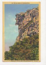 The Old Man Of The Mountain Franconia Notch White Mountains NH USA Postcard 428a