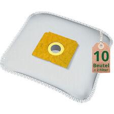 10 Staubsaugerbeutel + 2 Filter für Menalux 1000, Staubbeutel, Filtertüten