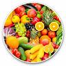 2 x Vinyl Stickers 7.5cm - Healthy Fruit Vegetable Food Cool Gift #24606