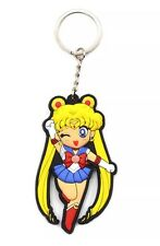 Sailor Moon Anime Keychain Double Sided Rubber Pendant 3� Us Seller