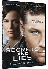 SECRETS AND LIES 1 (2015): US Crime Drama - TV Season Series - NEW  DVD R1