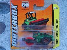 Matchbox 2013 #048/120 road roller vert mbx construction