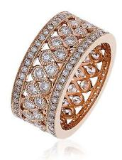 Diamond Full Eternity Wedding Ring 2.35ct Brilliant Cut F VS in 18ct Rose Gold
