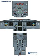 Cockpit - Flight Deck Training Posters 25%-100% - Airbus A320 EIS2 - from £29.95