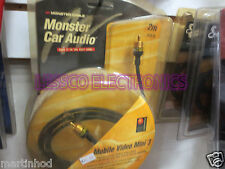 MONSTER CABLE CAR / HOME VIDEO CABLE - MOBILE VIDEO MINI 3 6.6 Feet